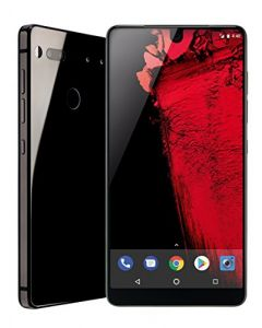 Essential Phone 128 GB Unlocked with Full Display, Dual Camera  Black Moon