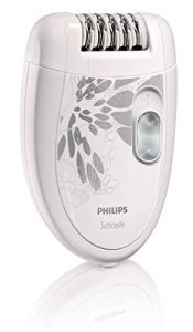 Philips Beauty HP6401/50 Satinelle Essential, Compact Hair Removal Epilator for Legs