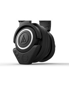 Value Bundle Audio-Technica ATH M50x Professional Headphones with East Brooklyn Labs Newly Designed Bluetooth Wireless Adapter with Aptx and Long Battery