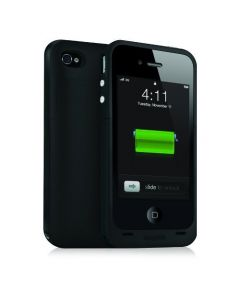 Mophie Juice Pack Plus Case and Rechargeable Battery for iPhone 4 (Black)