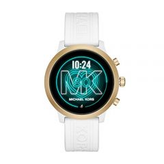 Michael Kors Access MKGO Touchscreen Aluminum and Silicone Smartwatch, White-MKT5071
