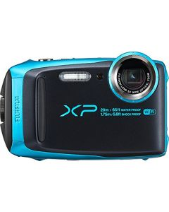 Fujifilm FinePix XP120 Waterproof Digital Camera - Sky Blue