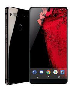 Essential Phone 128 GB Unlocked with Full Display, Dual Camera  Black Moon