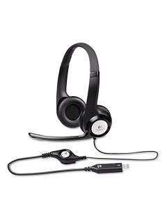 New Logitech - H390 USB Headset with Noise-Canceling Microphone - Bulk Packaging