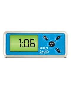 Ion Health USB Pedometer, White/Blue