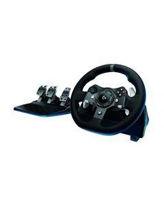 Logitech Driving Force G920 Racing Wheel, Force Feedback Steering Wheel