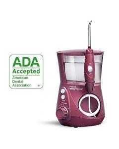 Waterpik Water Flosser Electric Dental Countertop Oral Irrigator for Teeth - Aquarius Professional, WP-669 Deep Burgundy