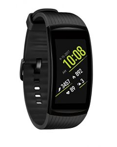 Samsung Gear Fit2 Pro Smart Fitness Band (Small), Liquid Black, SM-R365NZKNXAR