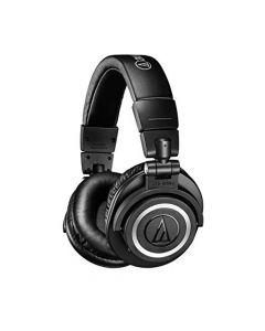 Audio-Technica ATH-M50xBT Wireless Bluetooth Over-Ear Headphones, Black
