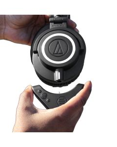 Bluetooth Adapter and Amplifier for Audio Technica ATH-M50x - BAL-M50X