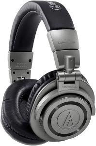 Audio-Technica ATH-M50xBTGM Wireless Bluetooth Over-Ear Headphones, gunmetal