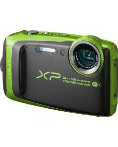 Fujifilm FinePix XP120 Waterproof Digital Camera - Lime (Certified Refurbished)